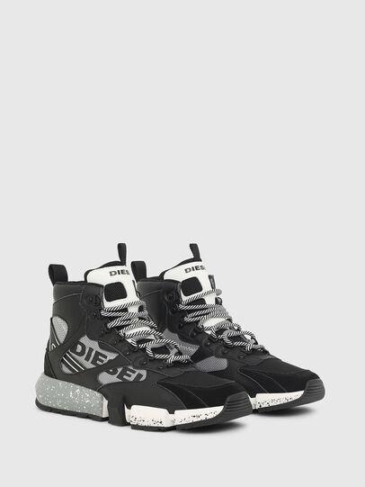 Diesel - S-PADOLA MID TREK, Black/Grey - Sneakers - Image 2