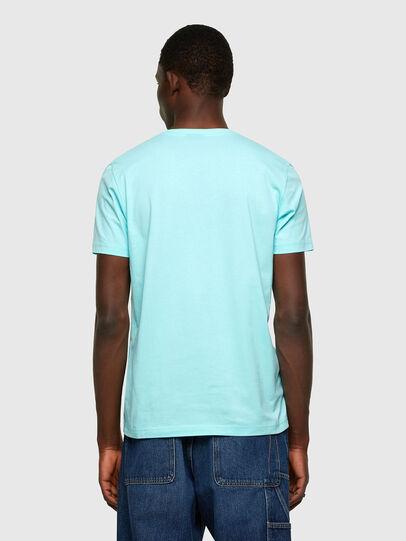 Diesel - T-DIEGOS-K37, Light Blue - T-Shirts - Image 2