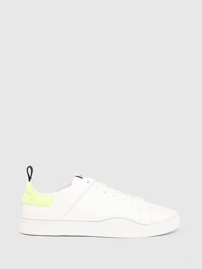 Diesel - S-CLEVER LS, White/Yellow - Sneakers - Image 1