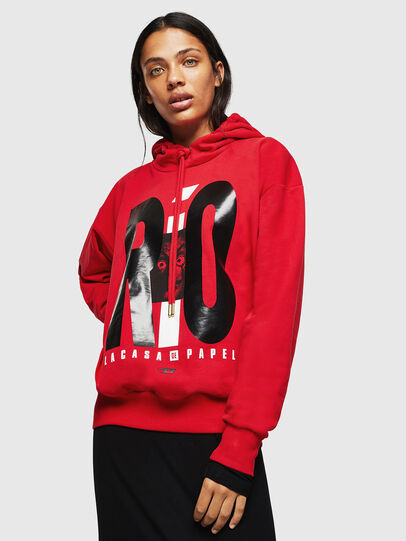 Diesel - LCP-S-ALBY-RIO, Red - Sweatshirts - Image 2