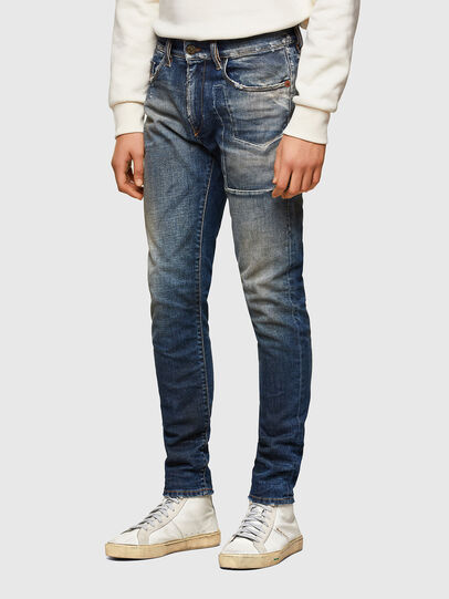 Diesel - D-Strukt Slim Jeans 009TX, Dark Blue - Jeans - Image 3