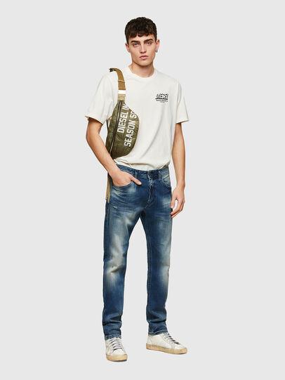 Diesel - Thommer Slim Jeans 009RD, Dark Blue - Jeans - Image 5