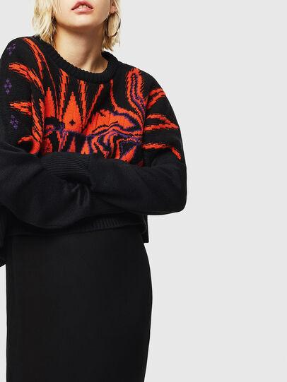 Diesel - M-TAO, Black - Sweaters - Image 5