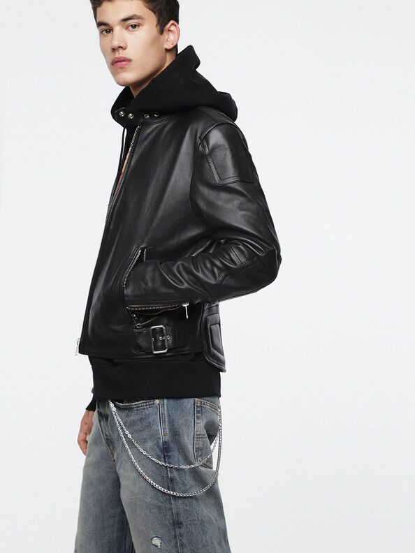 L-RUSHIS,  - Leather jackets