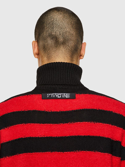 Diesel - K-BRENTON, Red/Black - Sweaters - Image 3