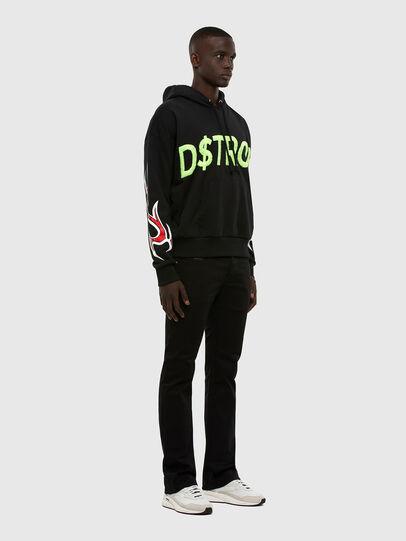Diesel - Zatiny Bootcut Jeans 0688H, Black/Dark Grey - Jeans - Image 5