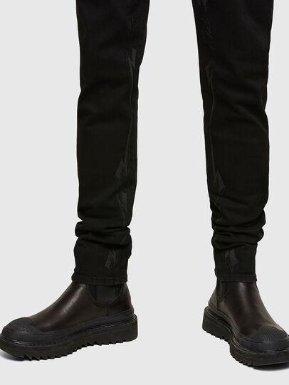Diesel - D-Istort Skinny Jeans 069TI, Black/Dark Grey - Jeans - Image 3