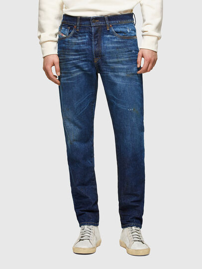 Diesel - D-Fining Tapered Jeans 009NG, Dark Blue - Jeans - Image 1