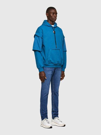 Diesel - D-Luster Slim Jeans 009DG, Medium Blue - Jeans - Image 5