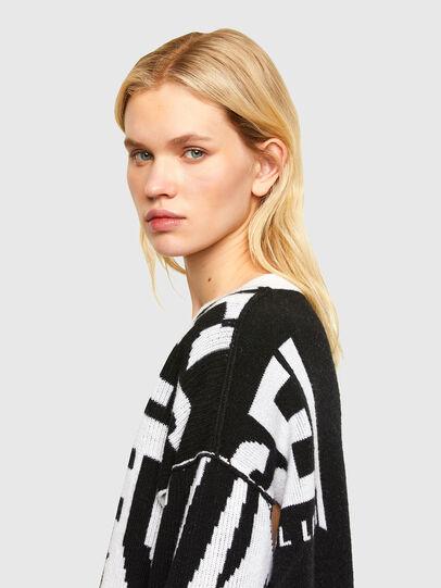 Diesel - M-ROSALINE, White/Black - Sweaters - Image 3