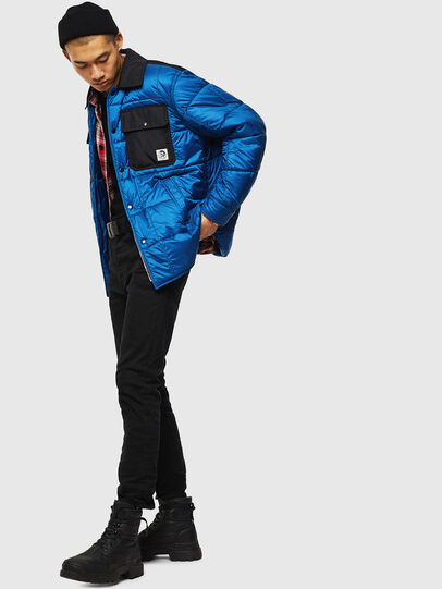 Diesel - J-WELLES, Blue Marine - Winter Jackets - Image 6