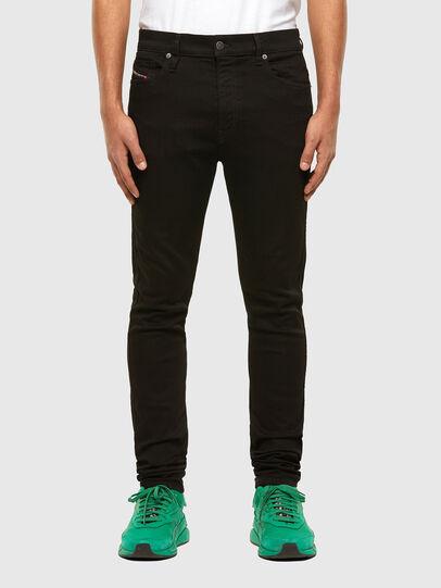 Diesel - D-Istort Skinny Jeans 069EF, Black/Dark Grey - Jeans - Image 1