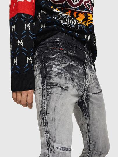Diesel - D-Reeft JoggJeans 084AH, Black/Dark Grey - Jeans - Image 3