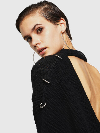 Diesel - MEBLY, Black - Sweaters - Image 3