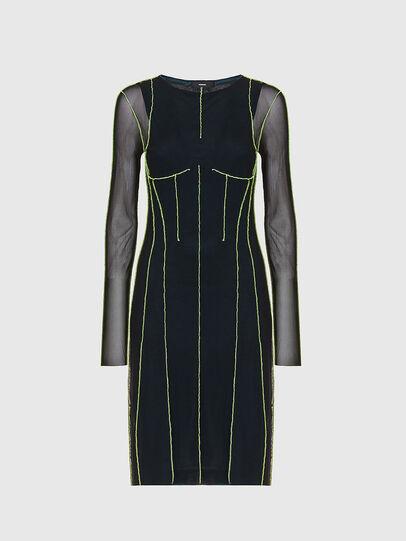 Diesel - D-VINA, Black/Green - Dresses - Image 1