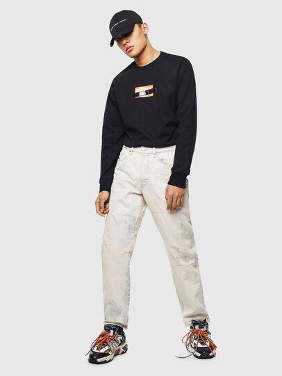 Diesel - S-GIRK-S4, Black - Sweatshirts - Image 6