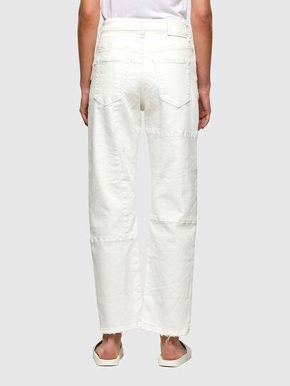 Diesel - D-Reggy Straight Jeans 009UL, White - Jeans - Image 2