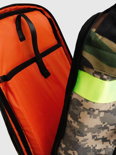 Diesel - PIEVE, Green Camouflage - Backpacks - Image 6