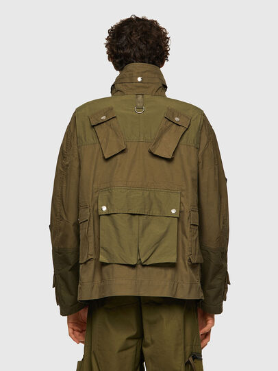 Diesel - J-BATTLE, Military Green - Jackets - Image 2
