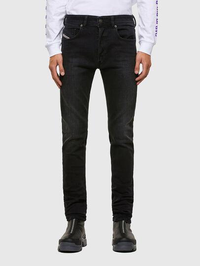 Diesel - Sleenker Skinny Jeans 009DH, Black/Dark Grey - Jeans - Image 1