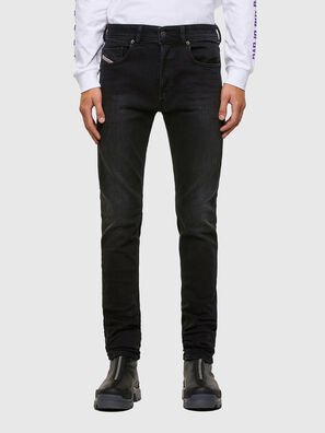 Sleenker 009DH, Black/Dark Grey - Jeans