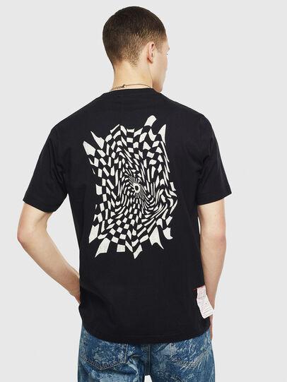 Diesel - T-JUST-T10, Black - T-Shirts - Image 2