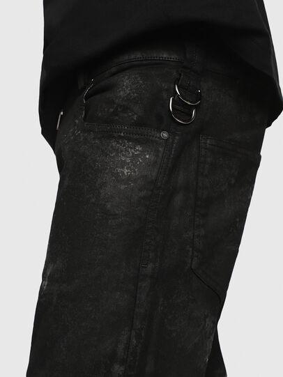 Diesel - Shibuia JoggJeans 069CQ, Black/Dark Grey - Jeans - Image 3