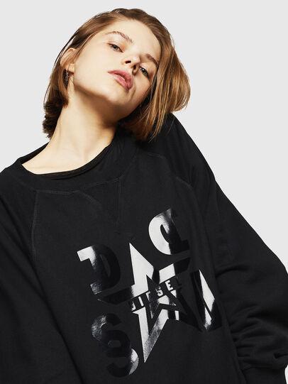 Diesel - F-HENNY-D, Black - Sweatshirts - Image 4