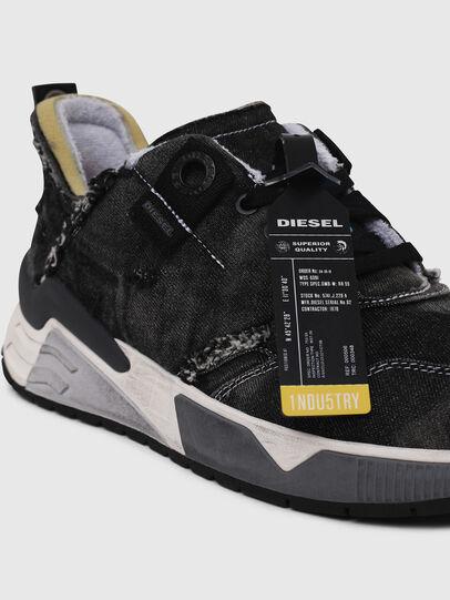 Diesel - S-BRENTHA LC, Black Jeans - Sneakers - Image 4