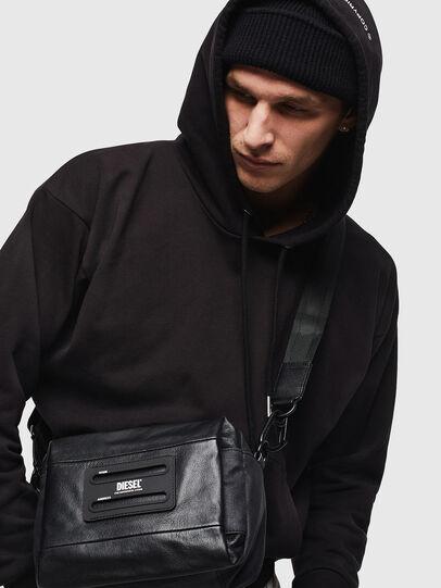 Diesel - D-SUBTORYAL SMALLCRO, Black - Crossbody Bags - Image 8