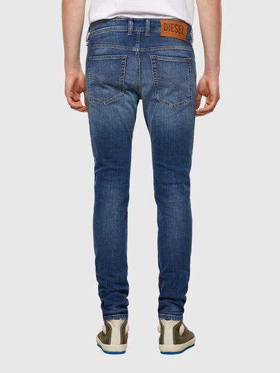 Diesel - Sleenker Skinny Jeans 09A60, Medium Blue - Jeans - Image 2