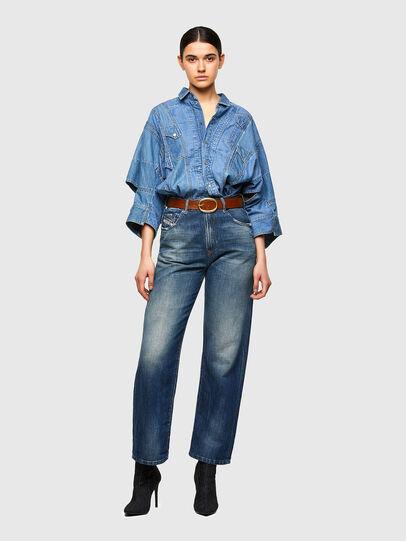 Diesel - D-Reggy Straight Jeans 009UD, Dark Blue - Jeans - Image 5