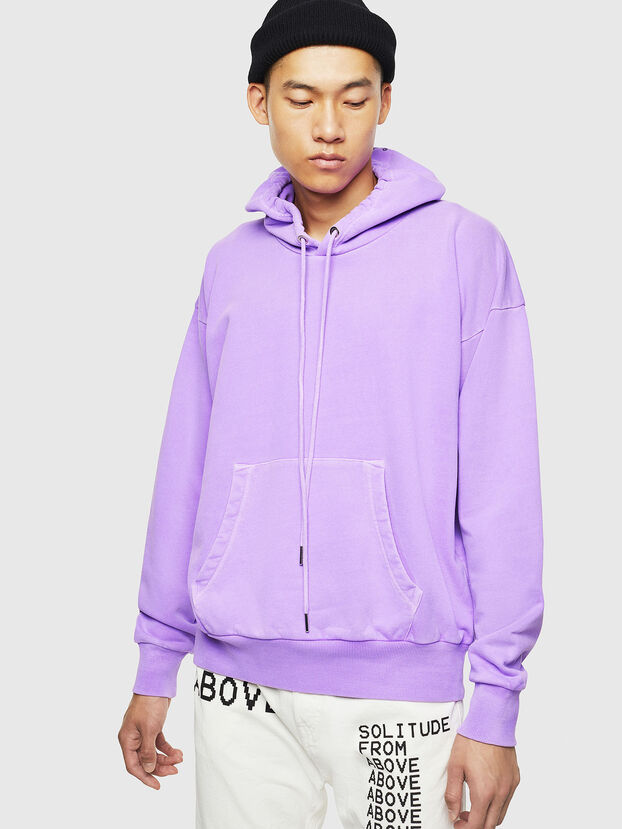 S-ALBY-FLUO, Lilac - Sweatshirts