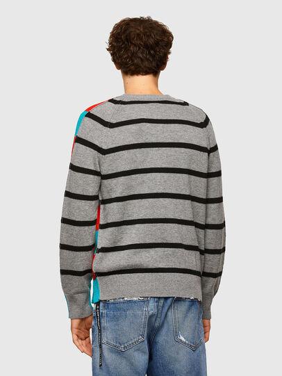 Diesel - K-JASPER, Blue/Red - Sweaters - Image 2