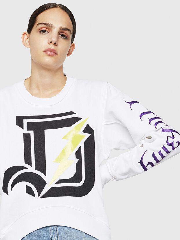 F-LYANYDY-A, White - Sweatshirts