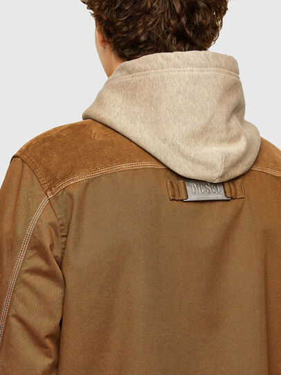 Diesel - J-BRUNO, Brown - Jackets - Image 3