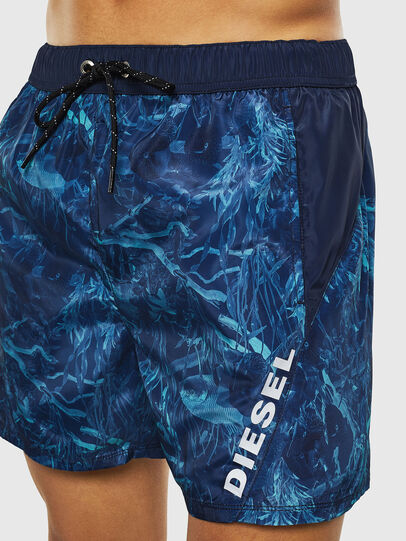Diesel - BMOWT-DORSAL, Blue - Swim shorts - Image 3