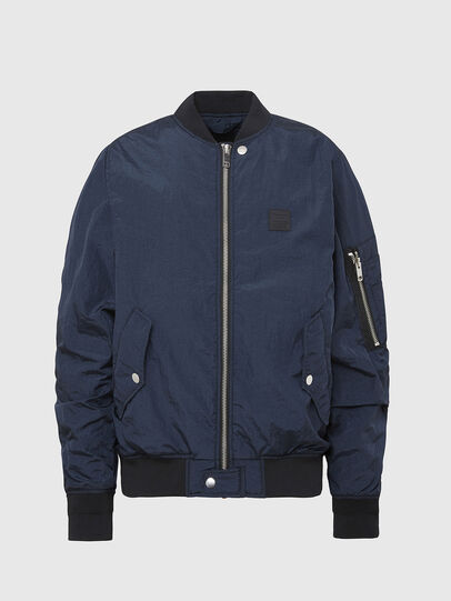 Diesel - J-DUST-KA, Dark Blue - Jackets - Image 1