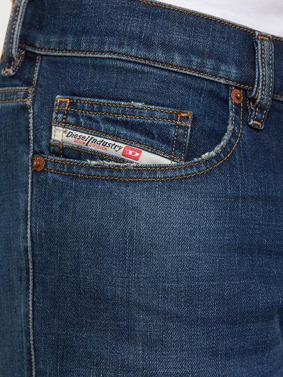 Diesel - D-Luster 009EL, Dark Blue - Jeans - Image 4