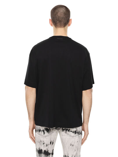 Diesel - TEORIA-TIEDYESQUARE, Black - T-Shirts - Image 2