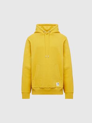 S-GIRK-HOOD-MOHI, Yellow - Sweatshirts