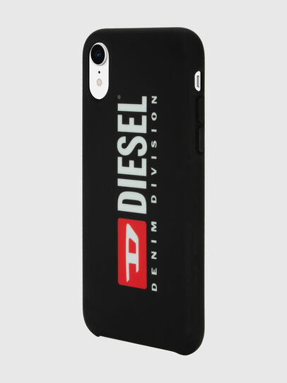 Diesel - DIESEL PRINTED CO-MOLD CASE FOR IPHONE XR, Black/White - Cases - Image 5