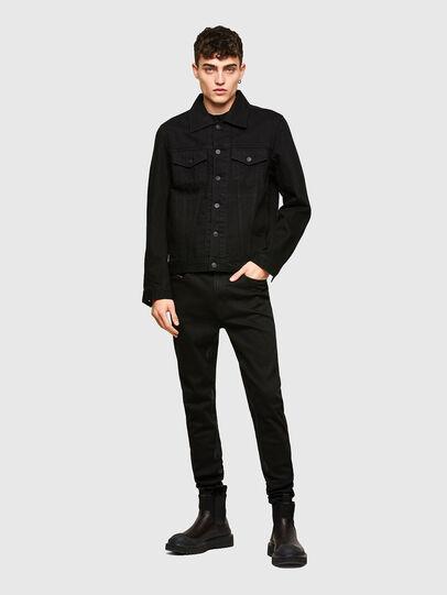 Diesel - D-Istort Skinny Jeans 069TI, Black/Dark Grey - Jeans - Image 6
