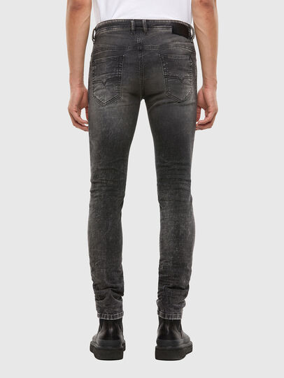 Diesel - Thommer JoggJeans® 009KC, Black/Dark Grey - Jeans - Image 2