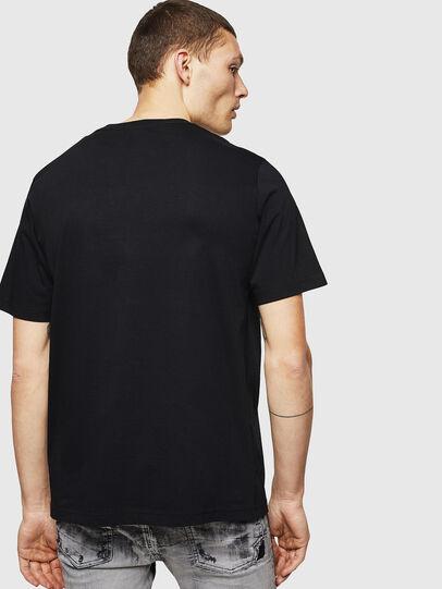 Diesel - T-JUST-LOGO, Black - T-Shirts - Image 2