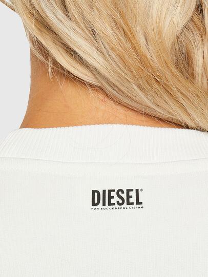 Diesel - F-ANG-R10, White - Sweatshirts - Image 3