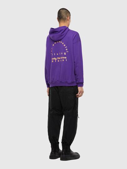 Diesel - S-UMMERZI, Violet - Sweatshirts - Image 5