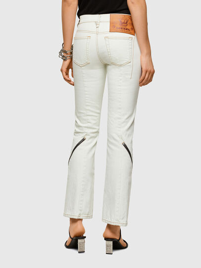 Diesel - D-Ebbey Bootcut Jeans 009ZA, White - Jeans - Image 2