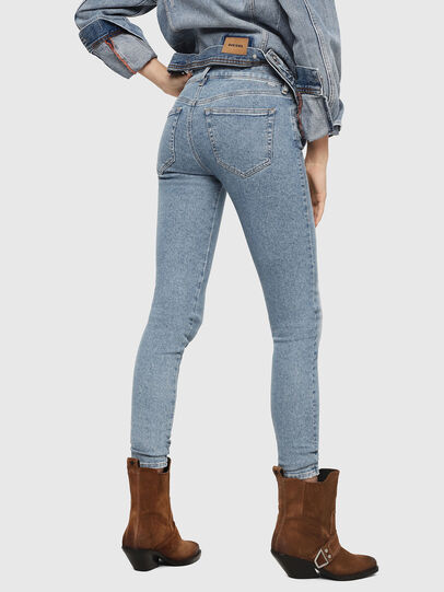 Diesel - Slandy 085AC, Light Blue - Jeans - Image 2
