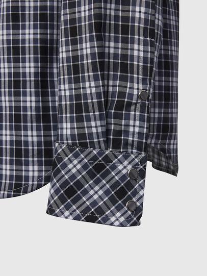 Diesel - S-EAST-LONG-O, Black/White - Shirts - Image 3